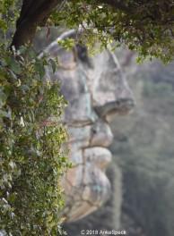Kopfskulptur im Boboli Garten Florenz