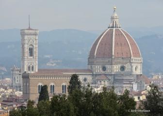 Blick auf die Kathedrale von Florenz