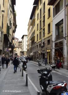 Strasse in Florenz