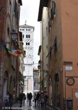 Blich auf San Michele in Foro
